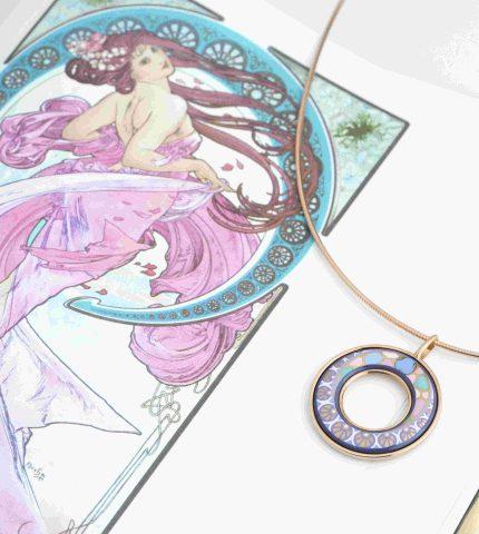 FREYWILLE выпустили сет украшений с розовым золотом-430x480