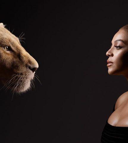 Бейонсе выпустила клип на саундтрек к мультфильму «Король Лев»-430x480