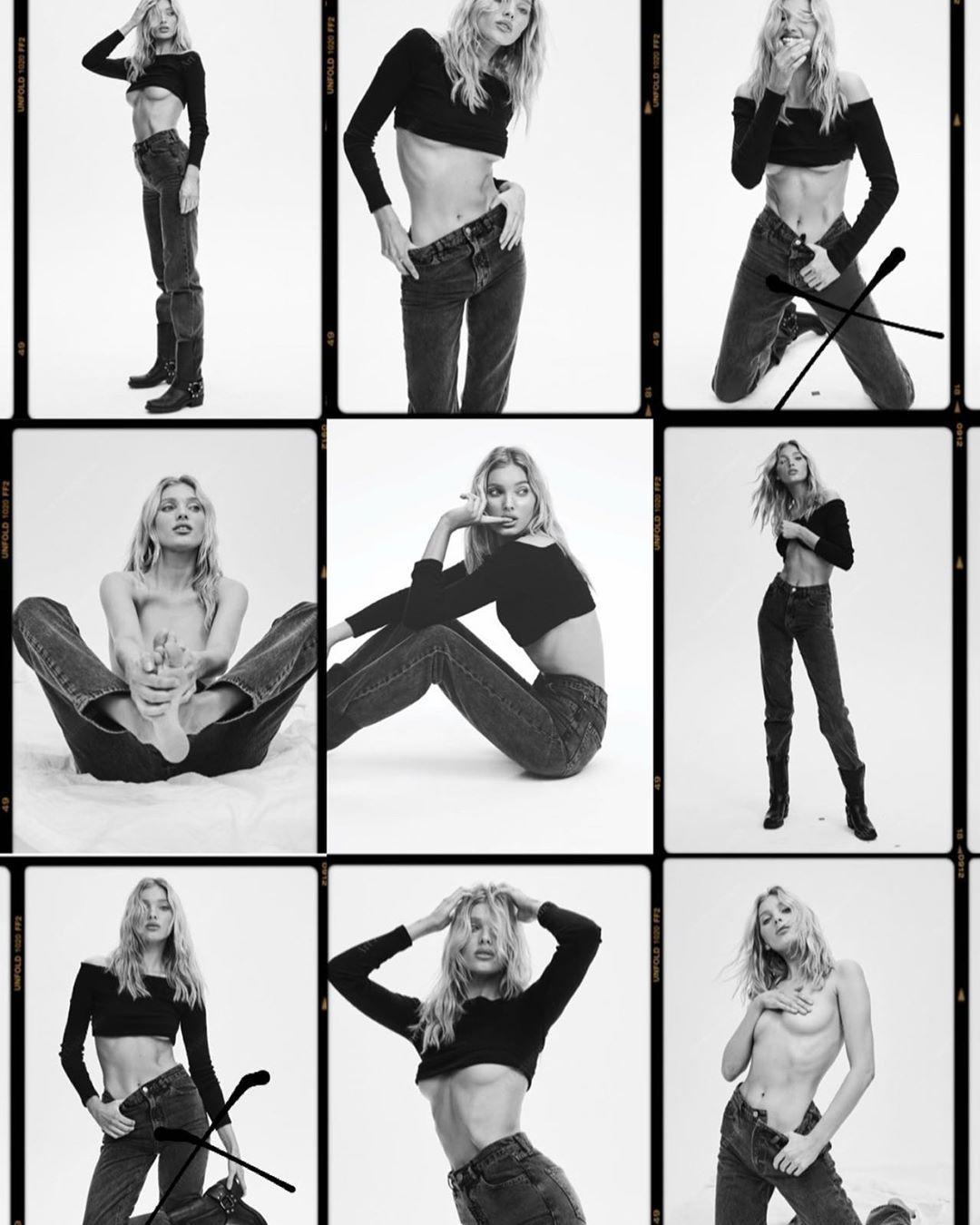 Эльза Хоск представила собственную коллекцию джинсов-Фото 1
