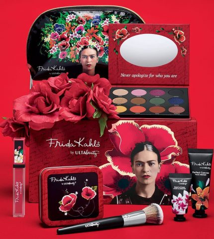 Ulta Beauty выпустили линейку косметики в честь Фриды Кало-430x480