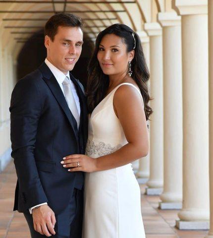 Внук Грейс Келли женился на своей возлюбленной из колледжа-430x480