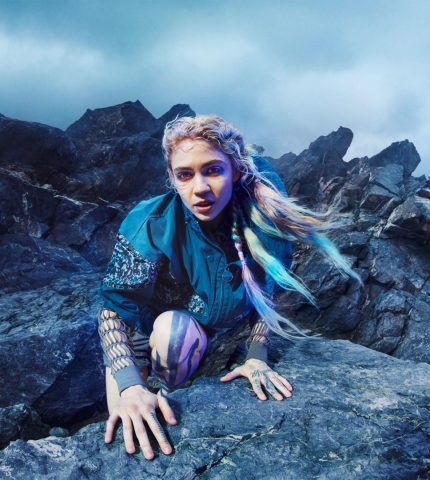 Певица Граймс снялась в рекламной кампании Adidas-430x480