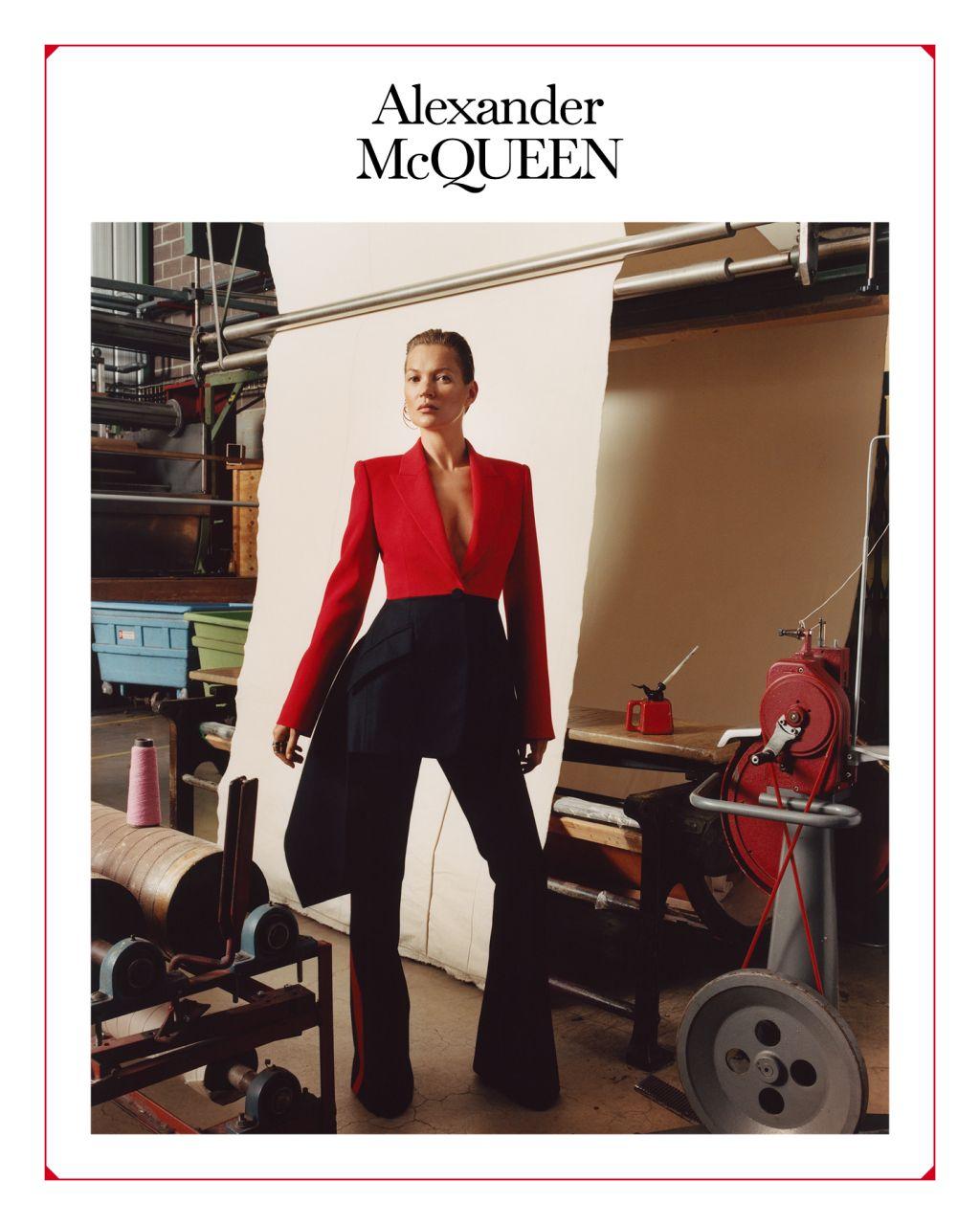 Кейт Мосс стала лицом новой рекламной кампании Alexander McQueen-Фото 3