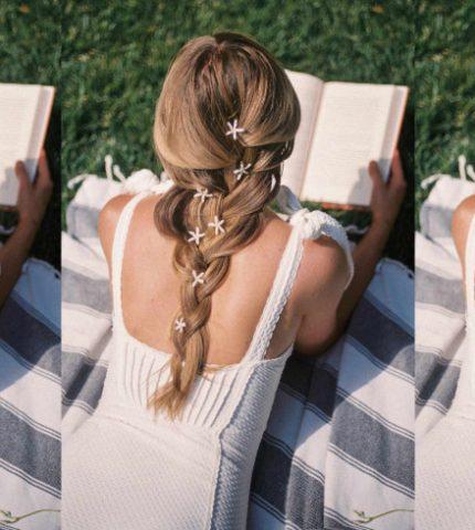 Летнее настроение: уход за волосами и легкие прически на отдых-430x480
