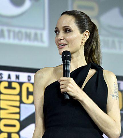 Анджелина Джоли появится в новом фильме Marvel-430x480