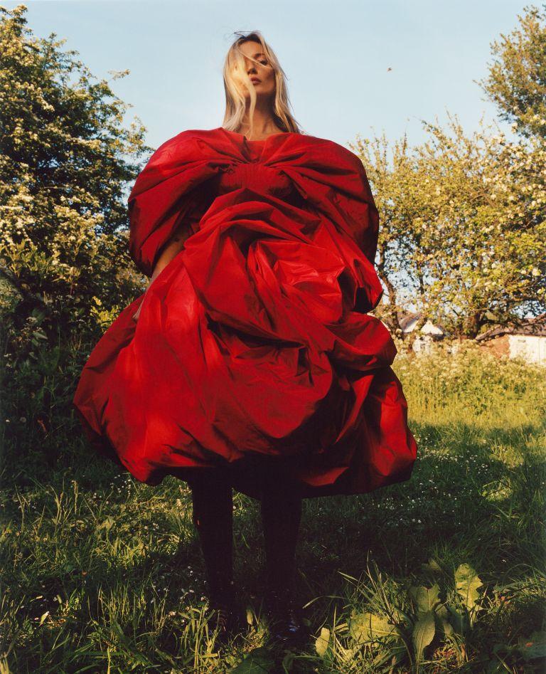 Кейт Мосс стала лицом новой рекламной кампании Alexander McQueen-Фото 2