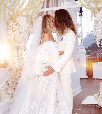 Хайди Клум и Том Каулитц сыграли вторую свадьбу в Италии-430x480