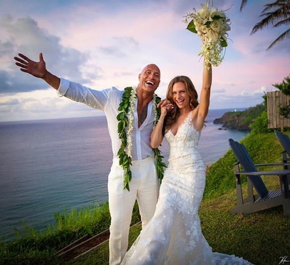 Дуэйн «Скала» Джонсон тайно женился на своей избраннице-Фото 1