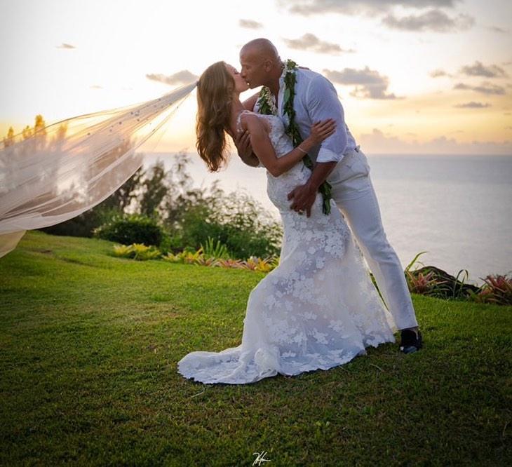 Дуэйн «Скала» Джонсон тайно женился на своей избраннице-Фото 2