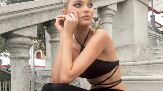 Образ дня: Эльза Хоск в черном вечернем платье на Венецианском кинофестивале-320x180
