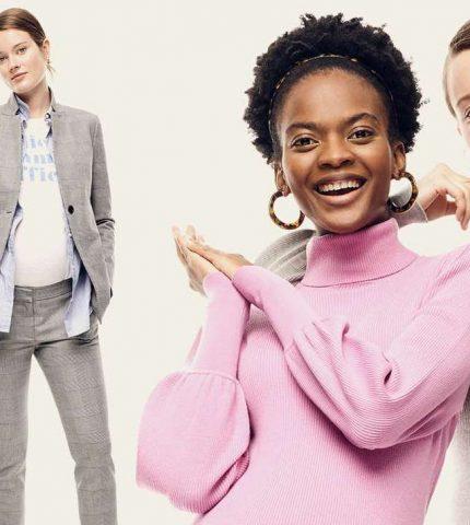 J.Crew в коллаборации с HATCH выпустили офисную одежду для беременных женщин-430x480
