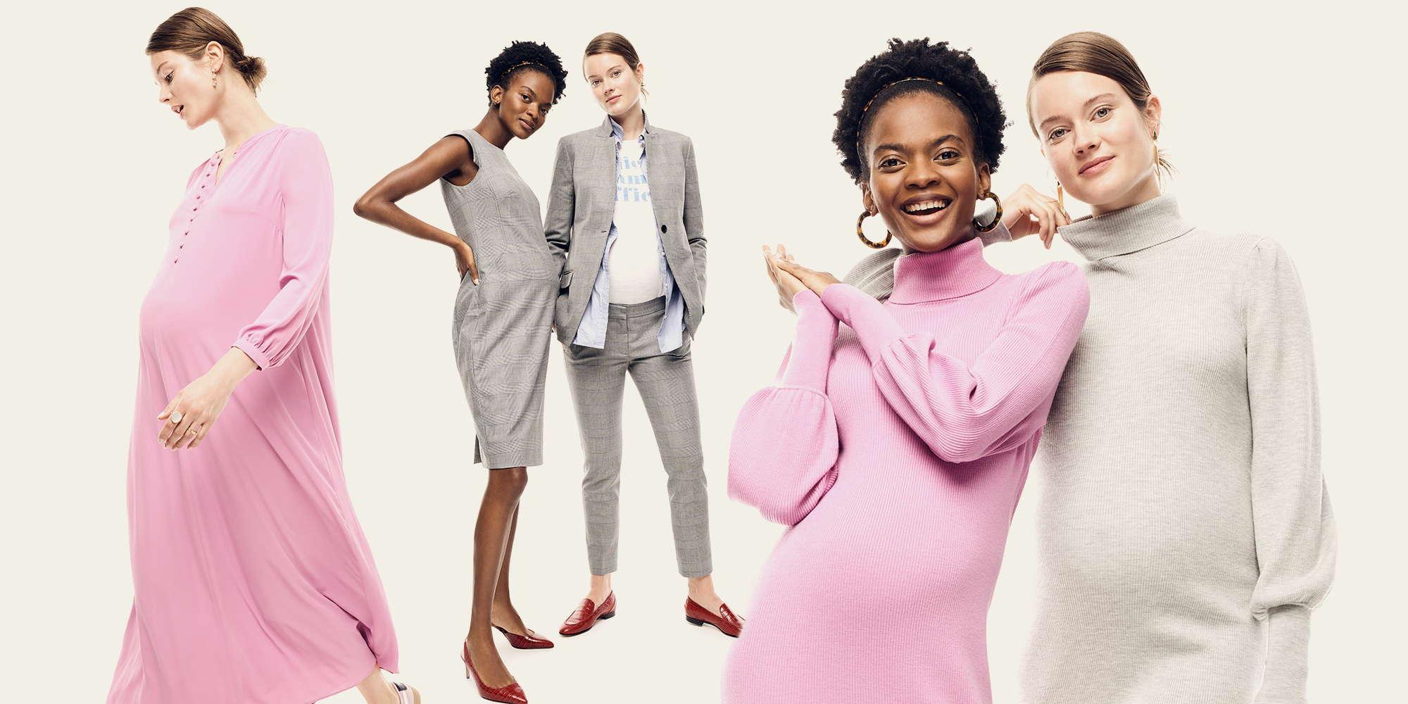 J.Crew в коллаборации с HATCH выпустили офисную одежду для беременных женщин-Фото 1