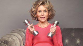 81-летняя Джейн Фонда стала лицом спортивного бренда