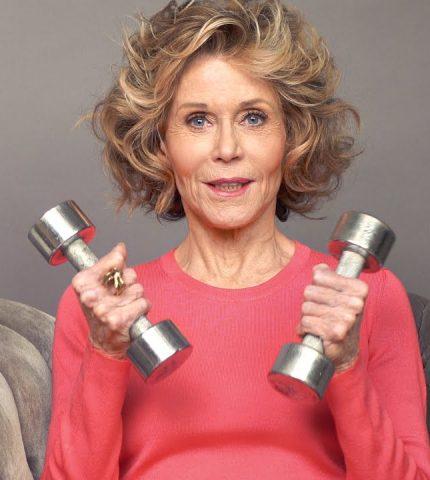 81-летняя Джейн Фонда стала лицом спортивного бренда-430x480