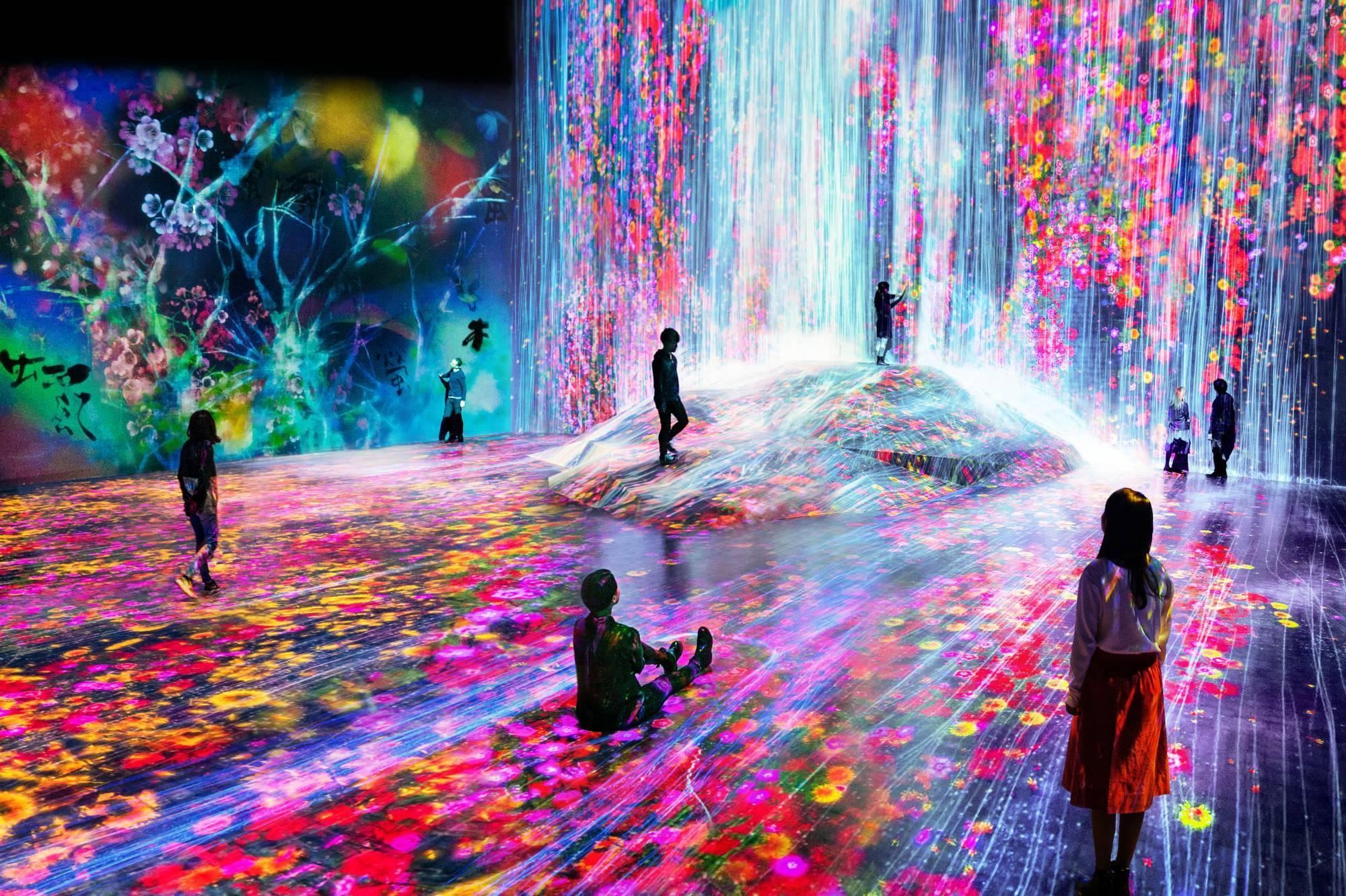 Музей цифрового искусства Mori Building Digital Art Museum