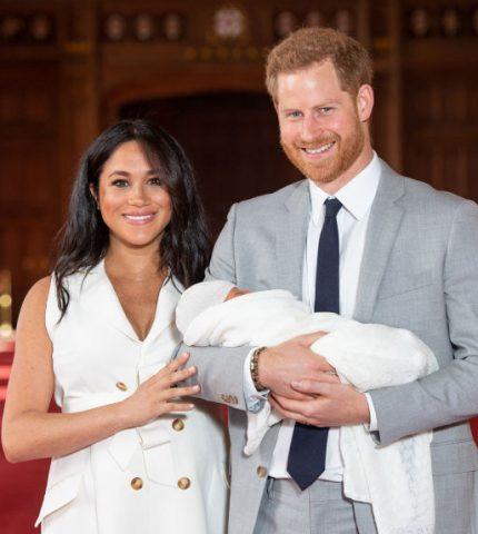 Меган Маркл и принц Гарри сделали благотворительный взнос за сына Арчи-430x480