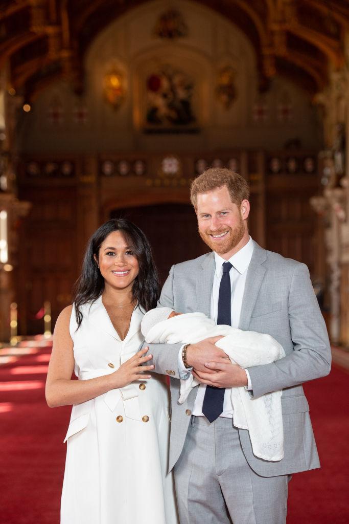 Меган Маркл и принц Гарри сделали благотворительный взнос за сына Арчи-Фото 1