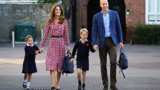 Кейт Миддлтон и принц Уильям отвели дочку в школу-320x180