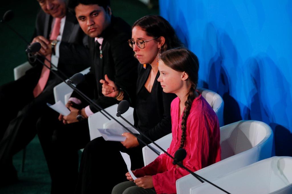 Грета Тунберг выступила с эмоциональной речью на саммите ООН-Фото 2