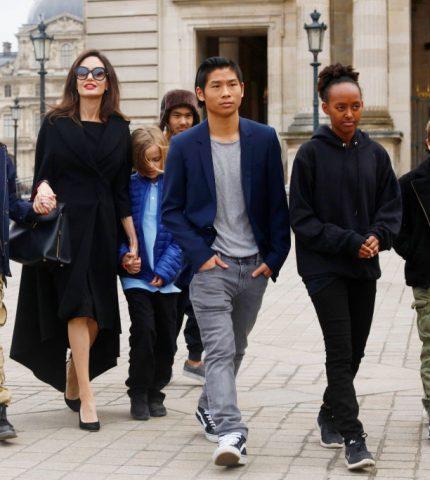Сын Анджелины Джоли дал первый комментарий по поводу своих отношений с Брэдом Питтом-430x480