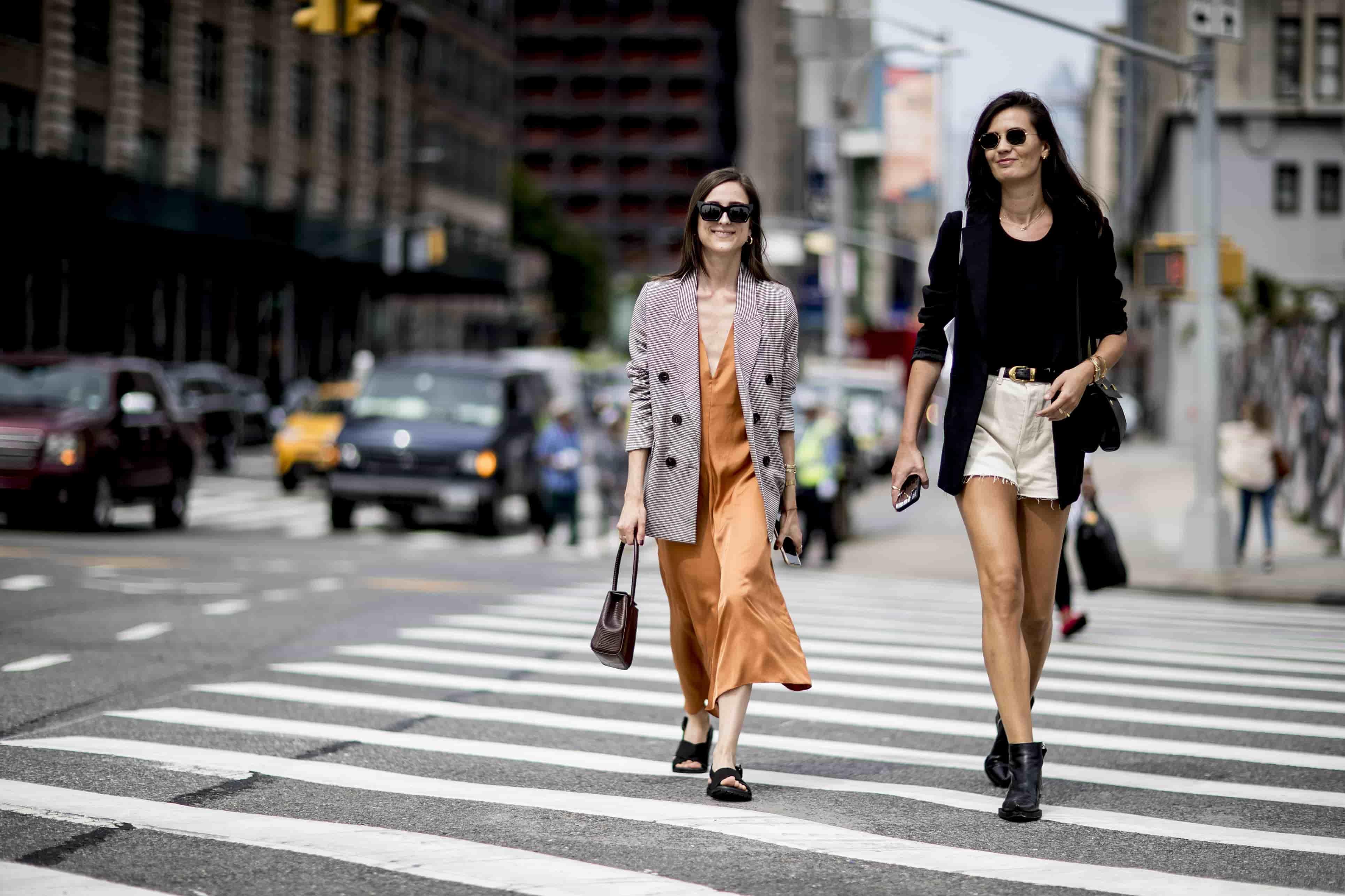 10 стильных образов с улиц Нью-Йорка-Фото 1