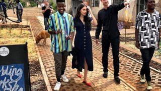 Меган Маркл посетила творческие группы в Йоханнесбурге-320x180