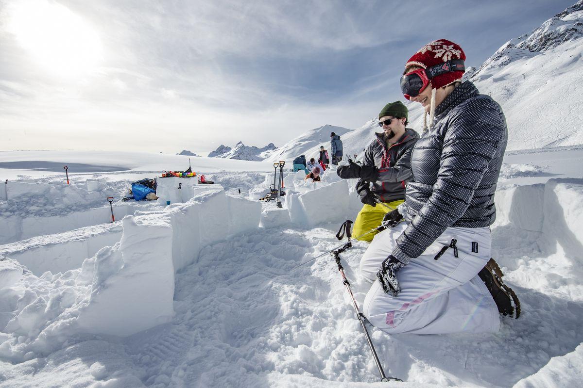 Как я строила иглу в Альпах-Фото 4