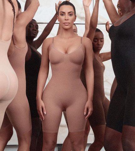 Ким Кардашьян презентовала линейку белья для красных ковровых дорожек-430x480