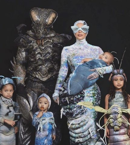 Какие костюмы на Хэллоуин выбрало семейство Кардашьян-Уэст-430x480