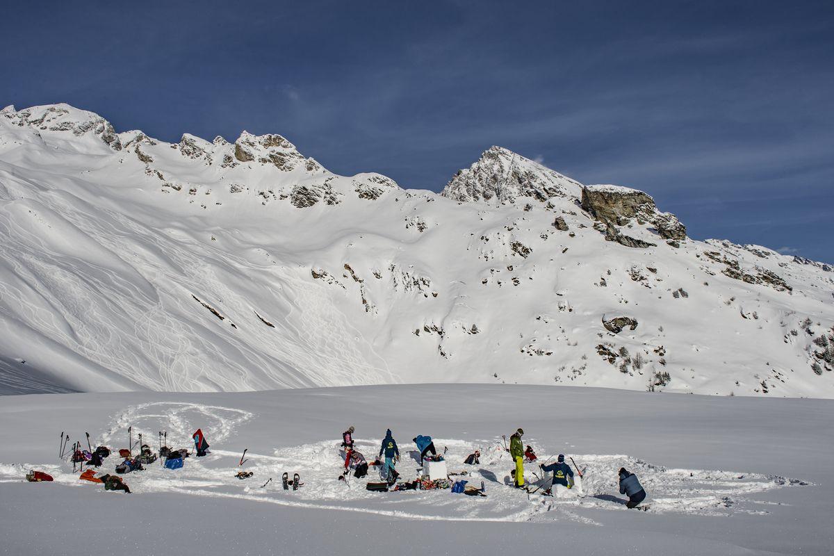 Как я строила иглу в Альпах-Фото 2