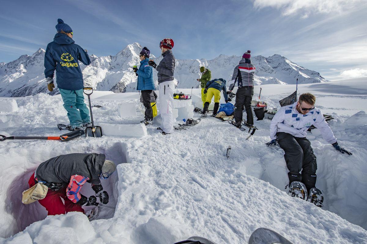 Как я строила иглу в Альпах-Фото 3