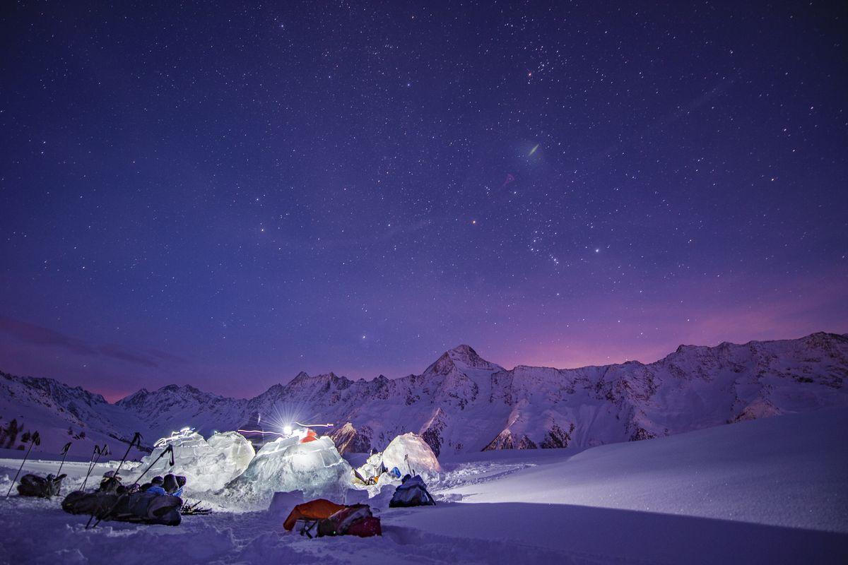 Как я строила иглу в Альпах-Фото 5