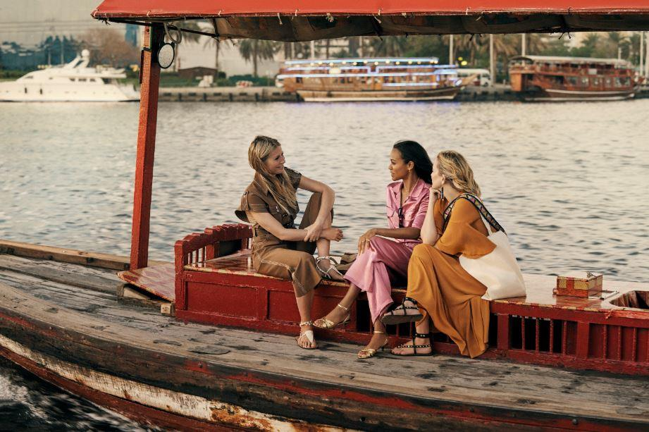 Гвинет Пэлтроу, Кейт Хадсон и Зои Салдана стали звездами фильма о Дубае «Полет истории»-Фото 1