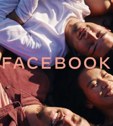 Facebook представил новый логотип компании-430x480