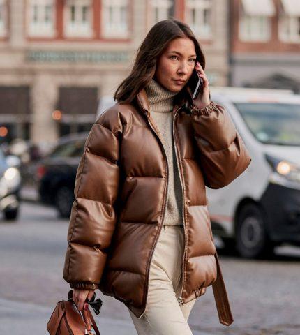 Зимние образы с трендовой верхней одеждой-430x480