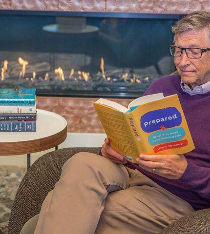 Книги для зимних каникул по рекомендации Билла Гейтса-430x480