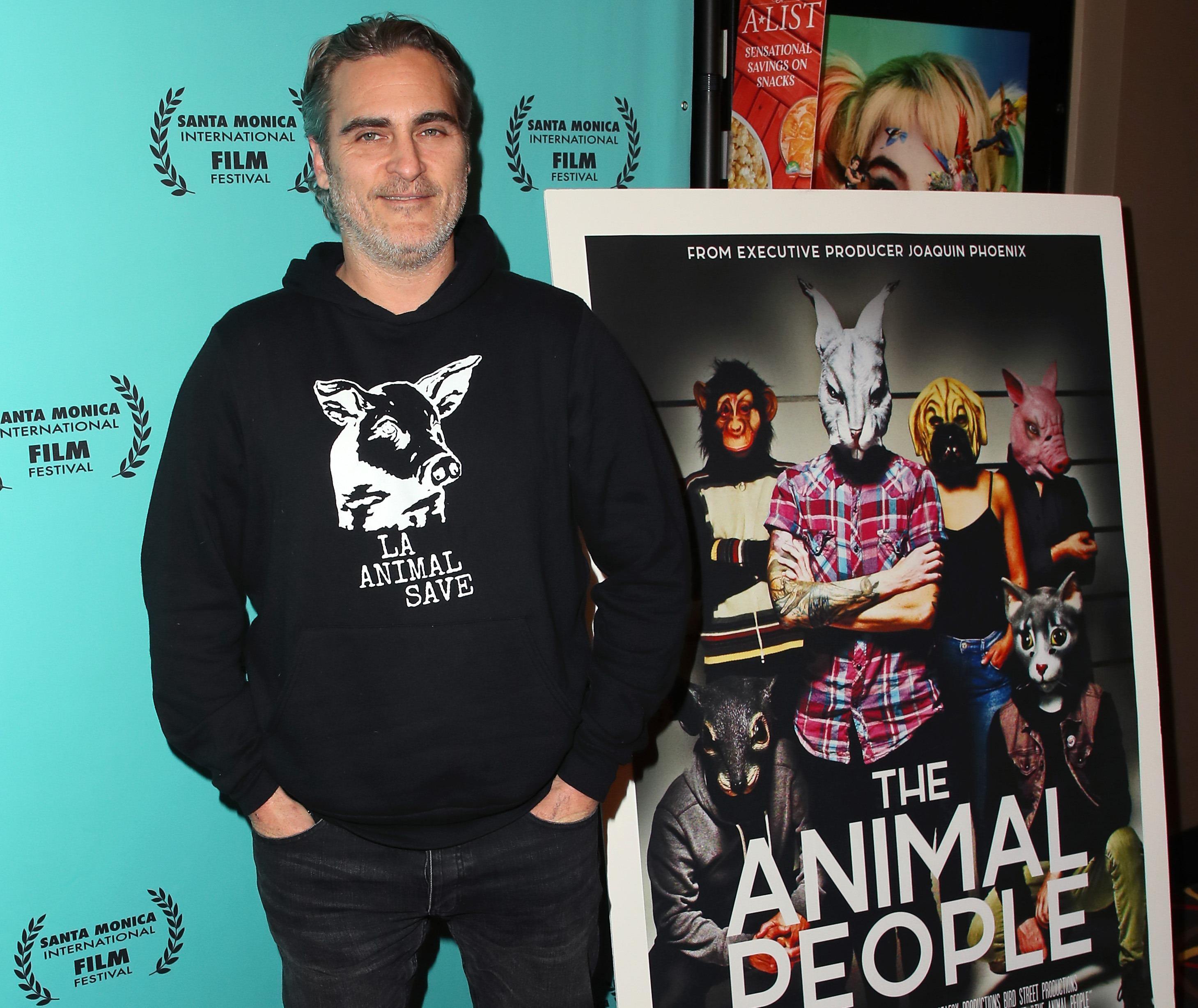 Хоакин Феникс стал человеком года по версии зоозащитной организации-Фото 1