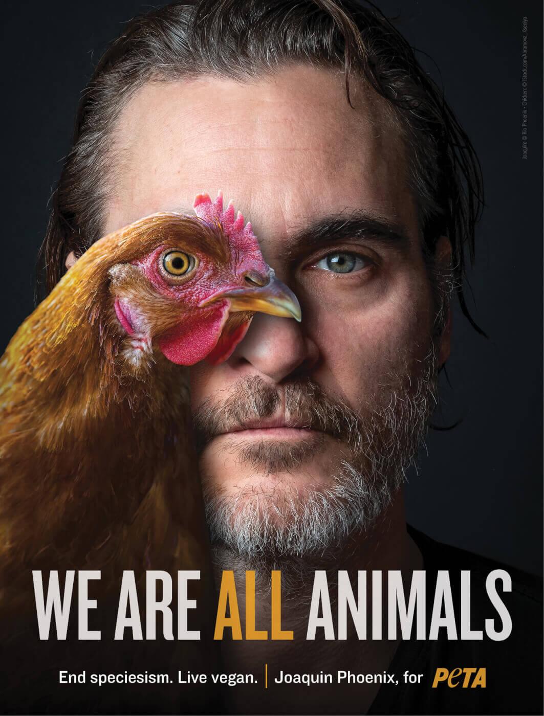 Хоакин Феникс стал человеком года по версии зоозащитной организации-Фото 2