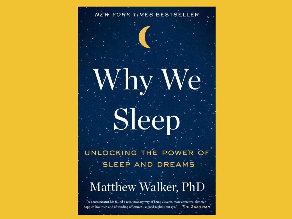 книга почему мы спим
