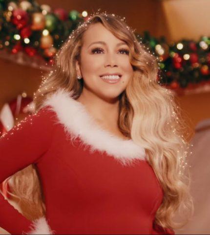 Мэрайя Кэри представила новую версию клипа на песню «All I Want for Christmas Is You»-430x480