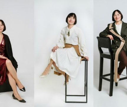 Элегантный возраст: стильные новогодние образы для женщин 50+-430x480