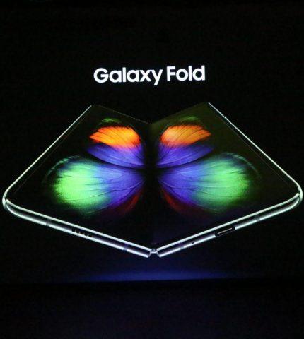 Samsung Electronics презентувала в Україні перший смарфтон з гнучким екраном  Galaxy Fold-430x480