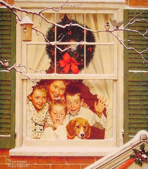 12 праздничных картин к Новому году и Рождеству-Фото 1
