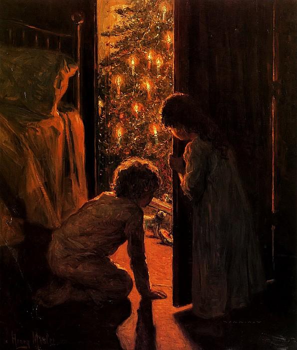 12 праздничных картин к Новому году и Рождеству-Фото 12