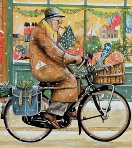 12 праздничных картин к Новому году и Рождеству-430x480