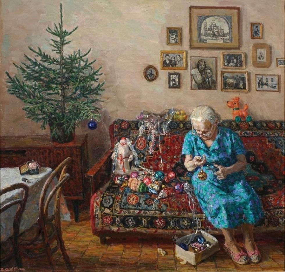 12 праздничных картин к Новому году и Рождеству-Фото 3