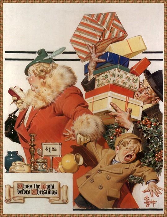 12 праздничных картин к Новому году и Рождеству-Фото 5