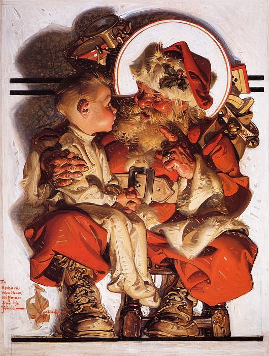12 праздничных картин к Новому году и Рождеству-Фото 7