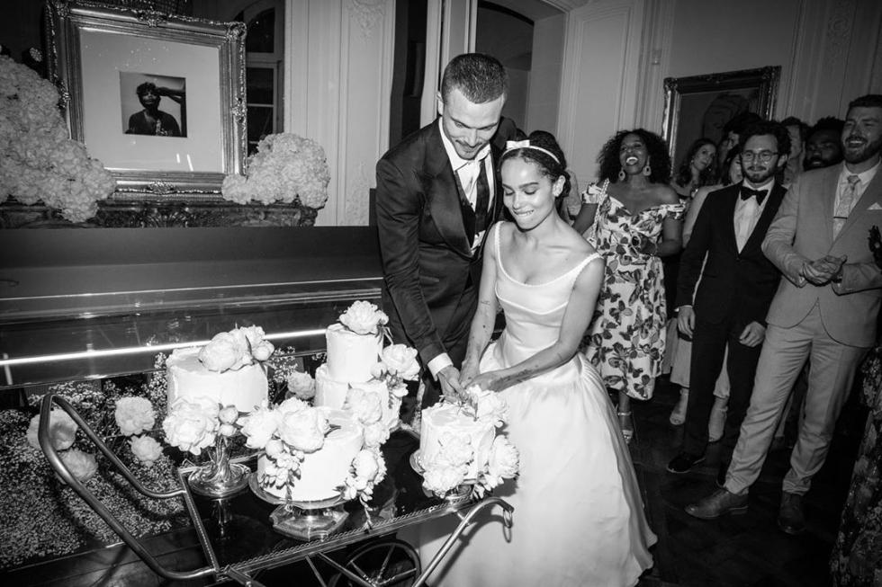 Зои Кравиц обнародовала снимки со своей тайной свадьбы-Фото 1