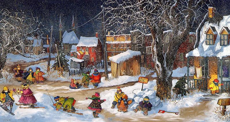 12 праздничных картин к Новому году и Рождеству-Фото 8